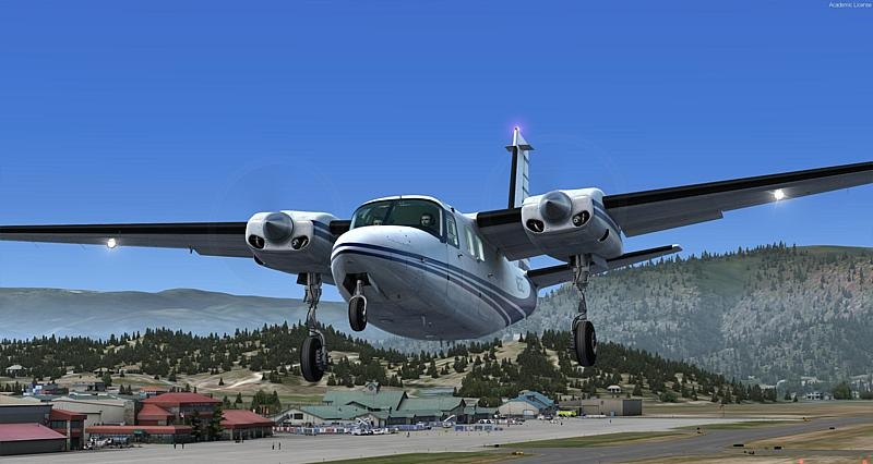 KEGE Eagle Country im Flugsimulator Prepar3Dv32